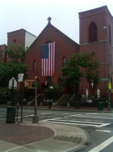 Holy Name Church w:Flag