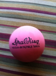 Spalding Rubber Ball