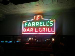 Farrell's Indoor Sign