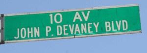 John Devaney sign
