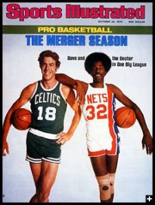 Cowens and Doc on SI cover