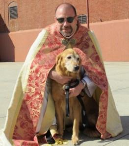 Fr. Jim n friend