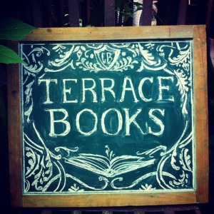 Terrace Books Sign