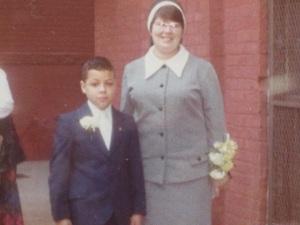 Jose Baez and Sister Barbara
