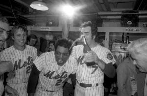 NY Mets celebrate 73