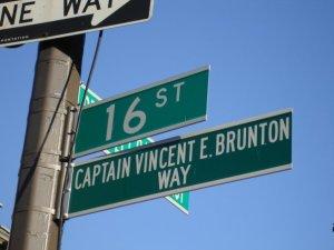 Street sign-Vincent Brunton