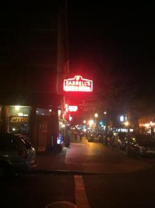 Farrell's at Night