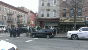 Outside Farrell's March 16