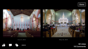 Before and After HN Church