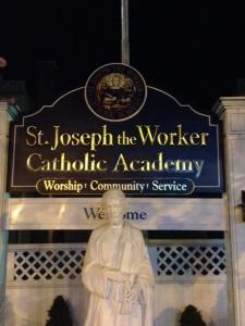 St. Joseph sign