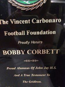 Bobby Corbett award