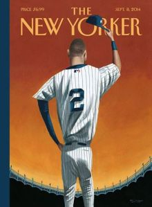 Derek Jeter New Yorker Cover