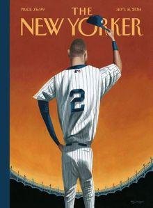 Derek Jeter New Yorker Cover