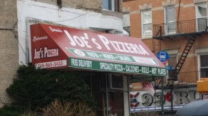 Joe's Pizza new sign