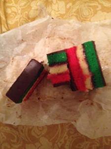 Rainbow cookie - 2