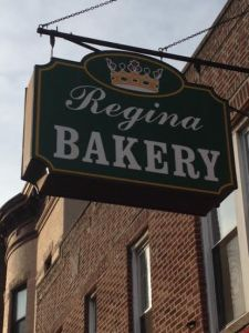 Regina Bakery sign