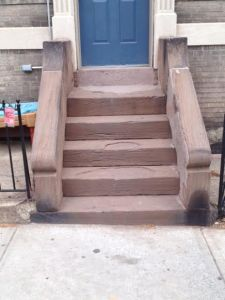 Stoop on Prospect Ave