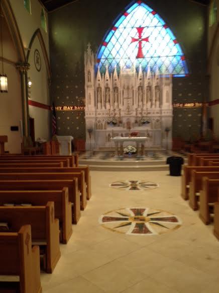 Inside HN church
