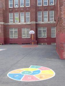 PS 10's schoolyard