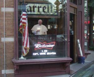 Pope in Farrell's