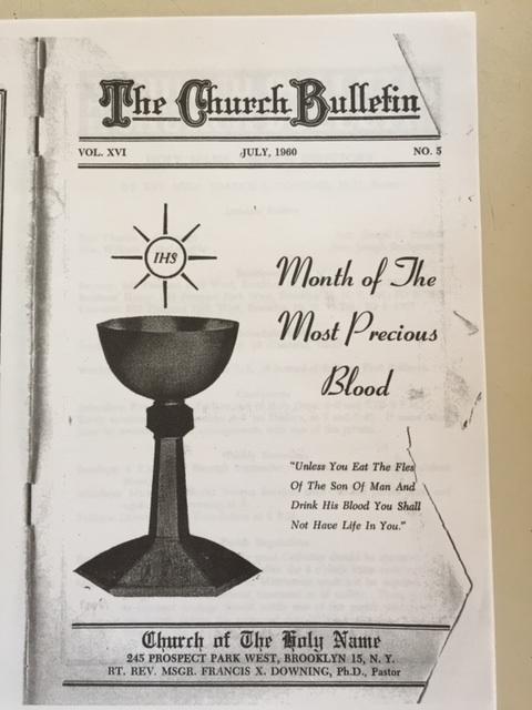 Church handout 1