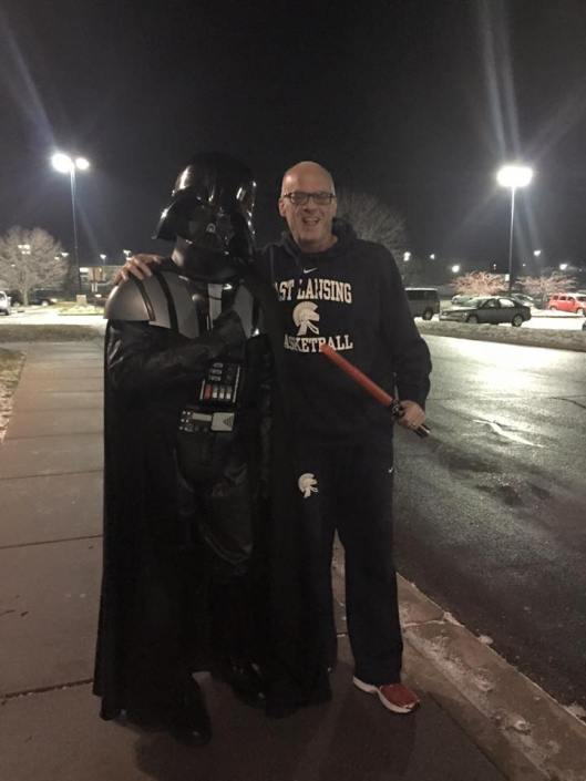 Me and Darth