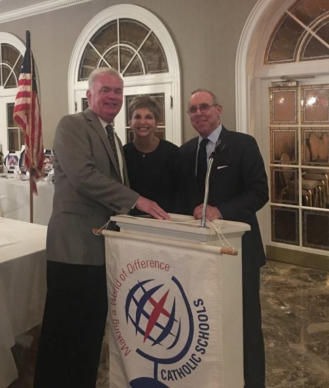 Ken, Bill and Mary Kay