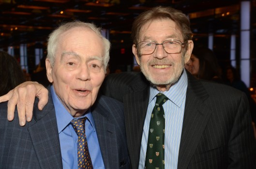 jimmy-breslin-and-pete-hamill-at-the-2014-glucksman-ireland-house-gala